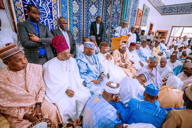 PHOTOS: Osinbajo, Atiku exchange banters as political bigwigs meet in Abuja_5e1a50a819b93.png