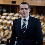UK Junior Minister, Douglas Ross