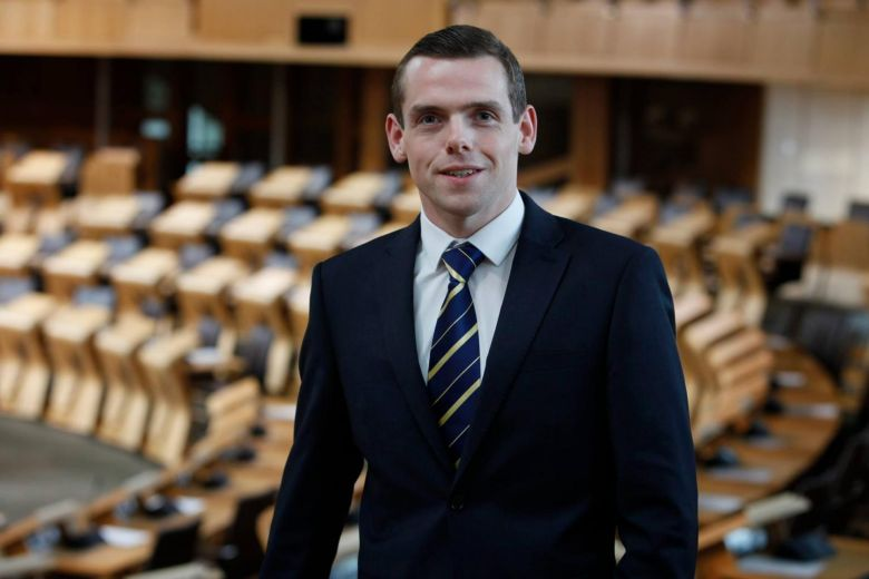 UK Junior Minister, Douglas Ross