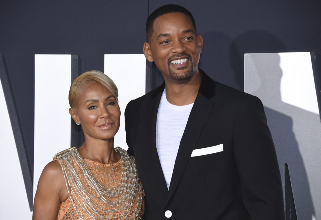 "Jada Pinkett Smith and Will Smith attend the premiere of ""Gemini Man"" in Los Angeles on Oct. 6, 2019."